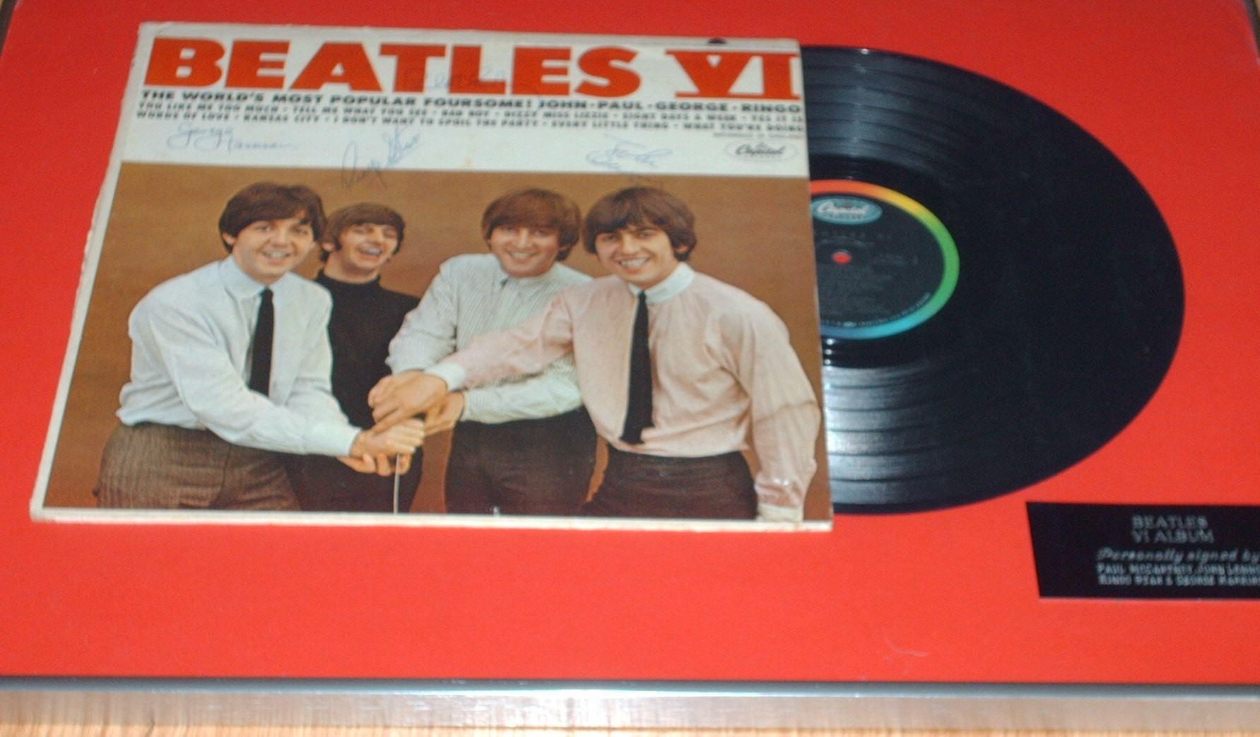 Where to sell Beatles autograph and what is a good price? Fab Beatles signed photo value