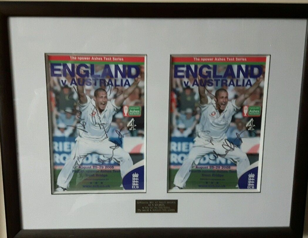 Signed Ashes Programme 2005