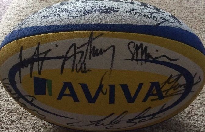 Tigers Signed Match Ball