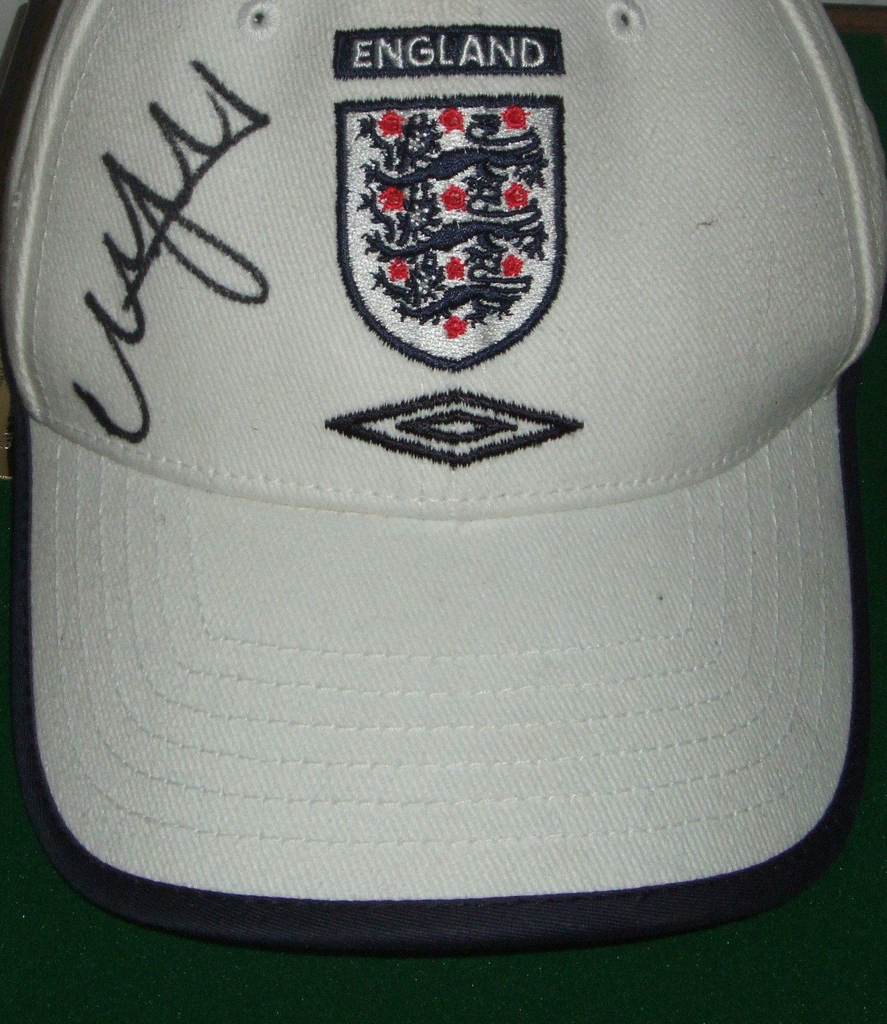 Nicky Butt Signed England Cap
