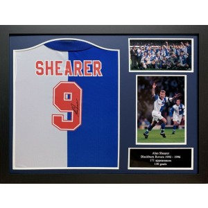 Alan Shearer Signed Blackburn Rovers  Shirt