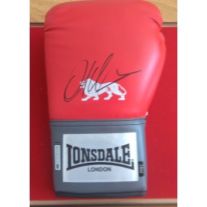 Amir Khan Signed  Glove
