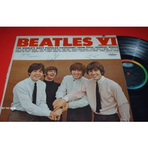 Signed Beatles VI LP