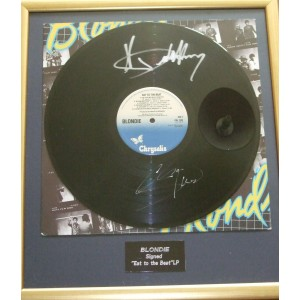 Blondie Signed Lp