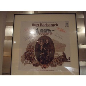 Butch Cassidy and The Sundance Kid Signed Album