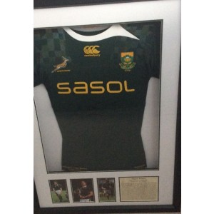 Butch James Signed Match SA Shirt