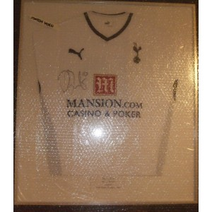 Signed Darren Bent THFC Shirt