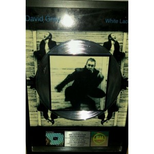 David Gray Platinum Disc