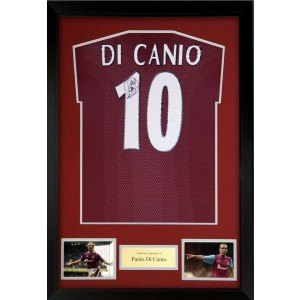 Paulo Di Canio Signed West Ham Shirt