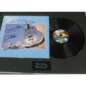 Signed Dire Straits Lp