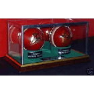 Twin/ Double Cricket/ Tennis/ Ball Glass Display Case