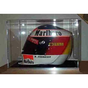 Full Size F1 Helmet Glass Display Case