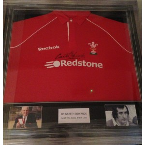 Gareth Edwards Signed Rugby Shirt