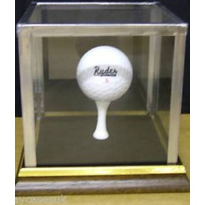 Golf Ball Display Case