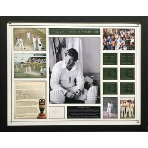 Ian Botham Signed Photo