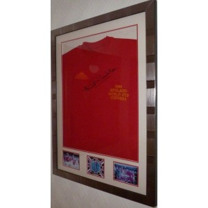 Jack Charlton Signed England Football Shirt