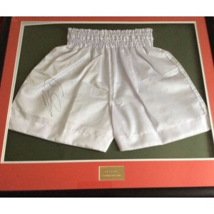 Joe Calzaghe Signed Shorts