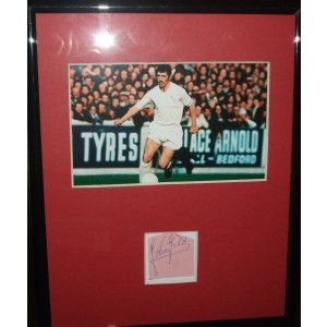 Johnny Giles Signed Photo