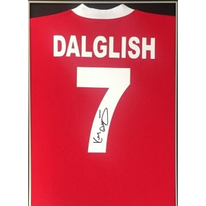 Kenny Dalglish Signed Liverpool Shirt