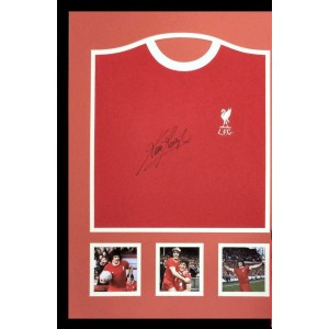 Kevin Keegan Signed Liverpool Shirt