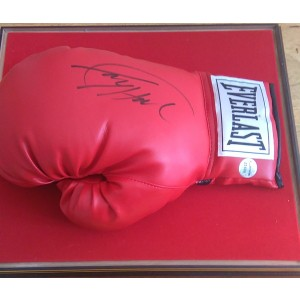 Larry Holmes Signed Boxing Glove