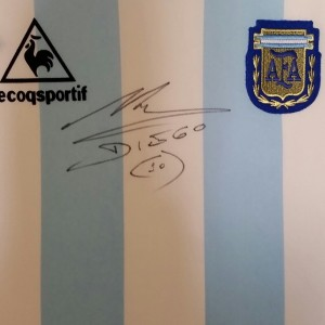 Maradona Signed Shirt