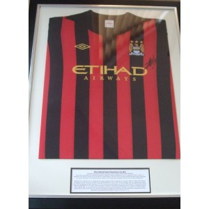 Mario Balotelli Signed Match Shirt