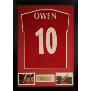 Michael Owen Signed Liverpool Shirt