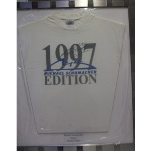 Michael Schumacher Signed White Shirt