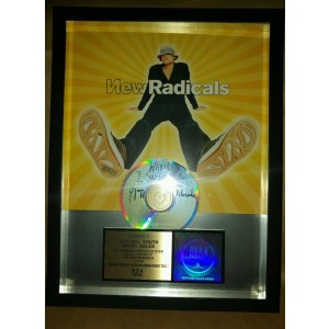 New Radicals Gold Disc