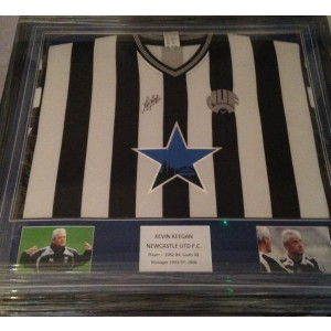 Kevin Keegan Signed Newcastle Shirt