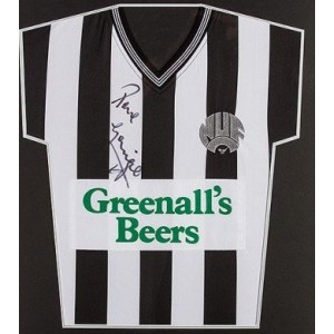 Paul Gascoigne Signed Newcastle Shirt