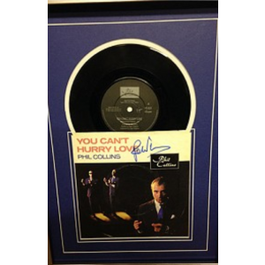 Signed Phil Collins Single