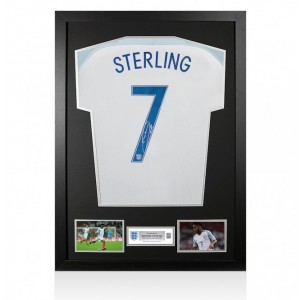 Raheem Sterling Signed Shirt
