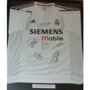 Real Madrid Signed Shirt