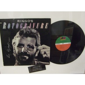Signed Ringo Starr Album