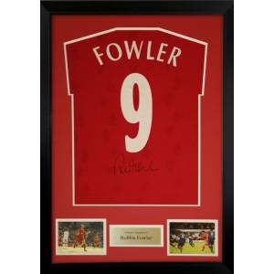 Robbie Fowler Autographed Liverpool Football Shirt