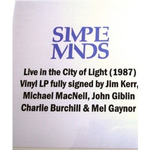Simple Minds Signed Album