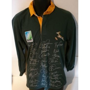 South Africa 1995 RWC Signed Shirt