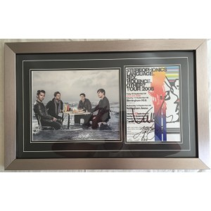 Stereophonics Signed Flyer