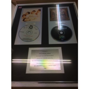Take That Platinum Disc