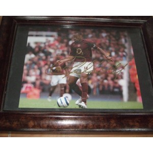 Thierry Henry Signed Photo