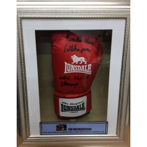 Tim Witherspoon Signed Glove