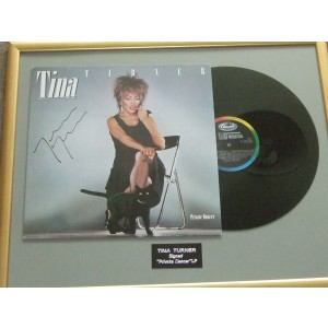 Tina Turner Signed Private Dancer Album
