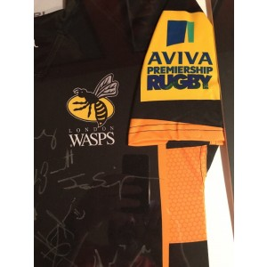 Wasps signed Rugby Shirt