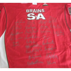 Wales Rugby Signed Shirt 2010