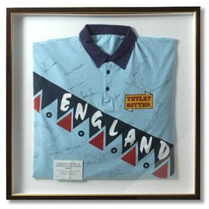 Signed Ronnie Irani Cricket Shirt