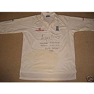 Angus Fraser Signed Shirt