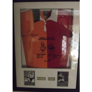 British Lions Dual Signed Rugby Shirt
