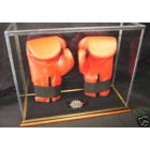BOXING GLOVE GLASS DISPLAY CASE